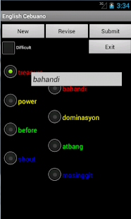 English Cebuano Tutor - screenshot