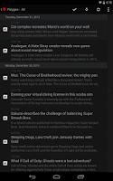 Screenshot of Press (RSS Reader)