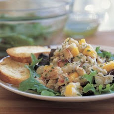 Crab Salad with Tarragon Vinaigrette (Extra-Fine French Grey Sea Salt)