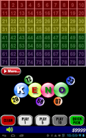 Screenshot of Keno