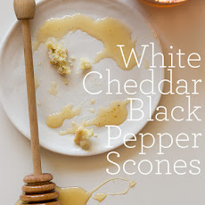 White Cheddar, Black Pepper Scones