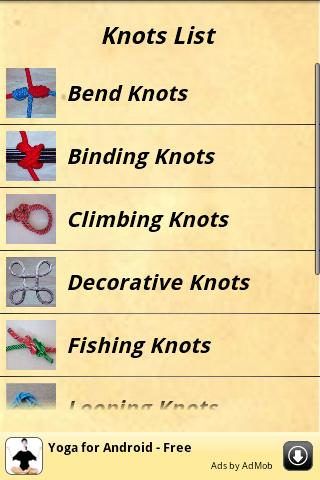 knots-guide for android screenshot