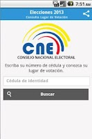 Screenshot of Lugar de Votación