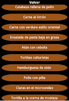 Screenshot of Recetas Culturismo
