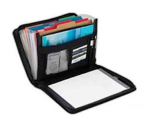 padfolio accordion folders travel organization