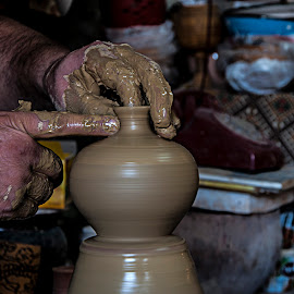 Potter by Ahmet AYDIN - Artistic Objects Other Objects