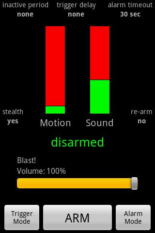 Motion Sound Alarm