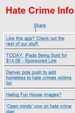 Hate Crime Info