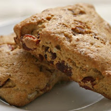 Vegan Orange Cranberry Scones
