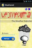 Screenshot of Weatheroid: Weather reports!