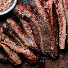 Grilled Flank Steak With Chile Spice Rub Recipe