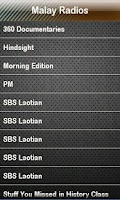 Screenshot of Malay Radio Malay Radios