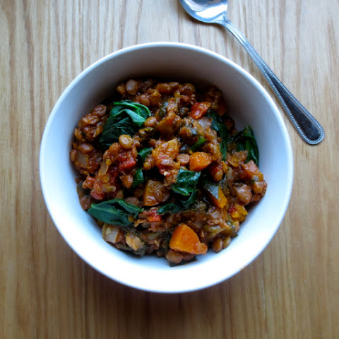 Lemon Lentil Kabocha Stew