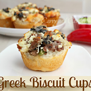 Greek Biscuit Cups