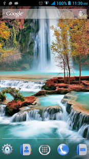 Waterfalls Live Wallpaper - screenshot