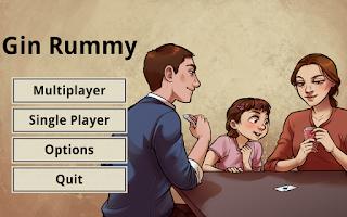 Screenshot of Gin Rummy