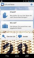 Screenshot of Zoll und Reise