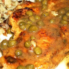 Sauteed Chicken Cutlets with Sage and Capers
