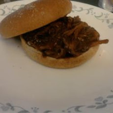 Slow Cooker Barbequed Pork for Sandwiches