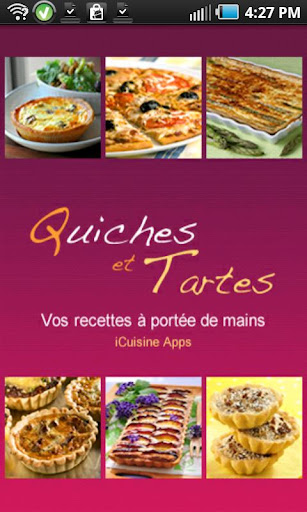iCuisine Tartes et Quiches