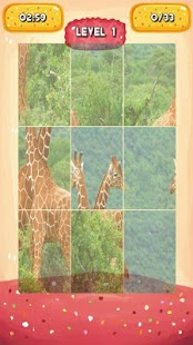 Giraffe Jigsaw Puzzles - screenshot
