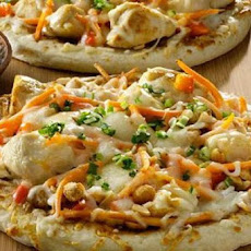 Rachael Ray's Thai Chicken Pizza