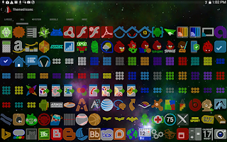Screenshot of the1Lucent Icon Theme