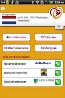 Screenshot of CZ Reishulp