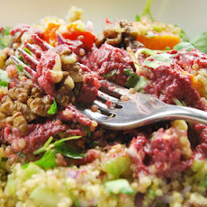 Quinoa With Squash And Walnuts