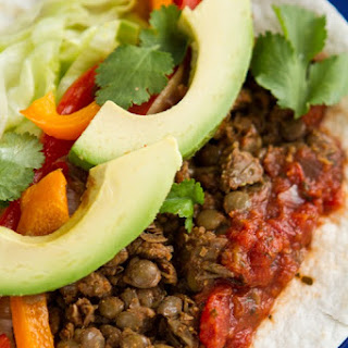Vegan Fajitas with Lentil Walnut Meat