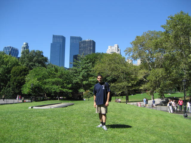 Central Park, New York, Sept 2008