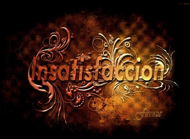 insatsfaccion