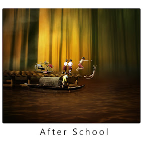 after school by Hendri  Shu - Digital Art People
