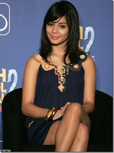 vanessa hudgens with short hair