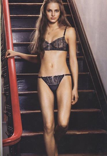 ruslana korshunova DKNY lingerie picture. Ruslana Korshunova Supermodel from Kazakhstan died in a nine-story plunge in New York on June 28, 2008
