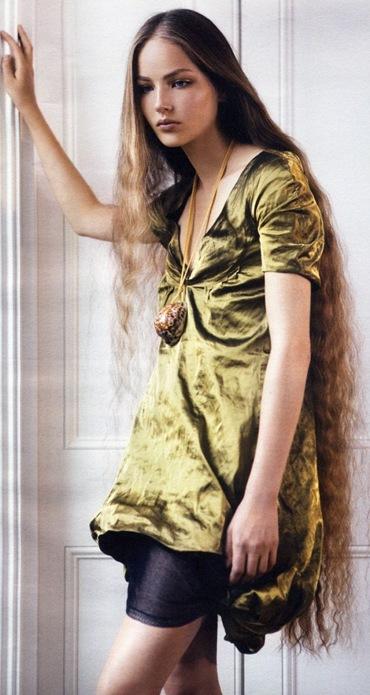 kazakhstan model ruslana korshunova image