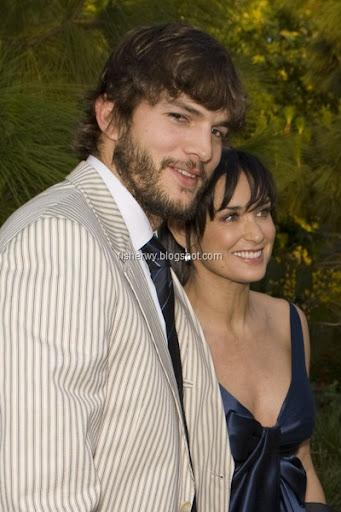 ashton kutcher calvin klein model. Ashton Kutcher and Demi Moore