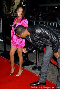 Will Smith and wife Jada Pinkett Smith The Kingdom Los Angeles Premiere Sep 17, 2007