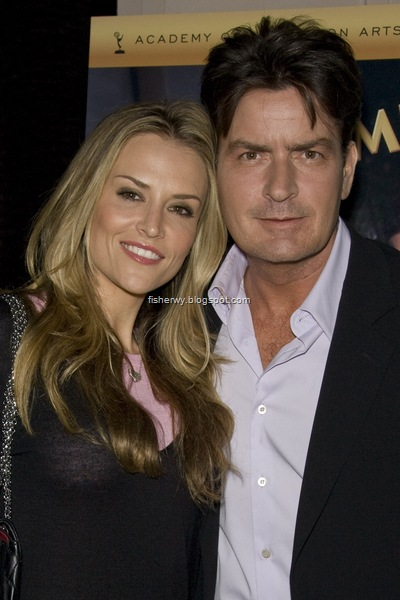 Charlie Sheen and Brooke Mueller photo