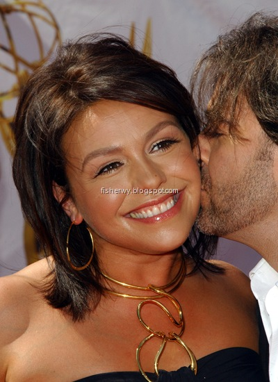 Photo of Rachael Ray and husband John Cusimano attending  35th Annual Daytime EMMY Awards2