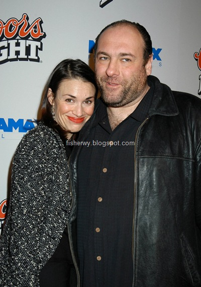 James Gandolfini Lora Somoza photo