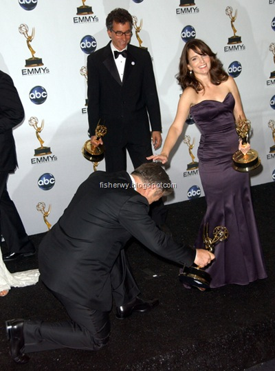 Alec Baldwin and Tina Fey 2008 Emmys Best Actor and Best Actress pic