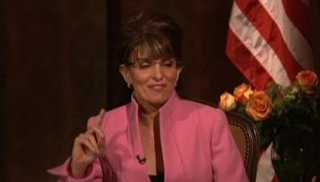 Tina Fey as Sarah Palin pic