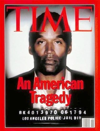 OJ Simpson Time Magazine Cover photo