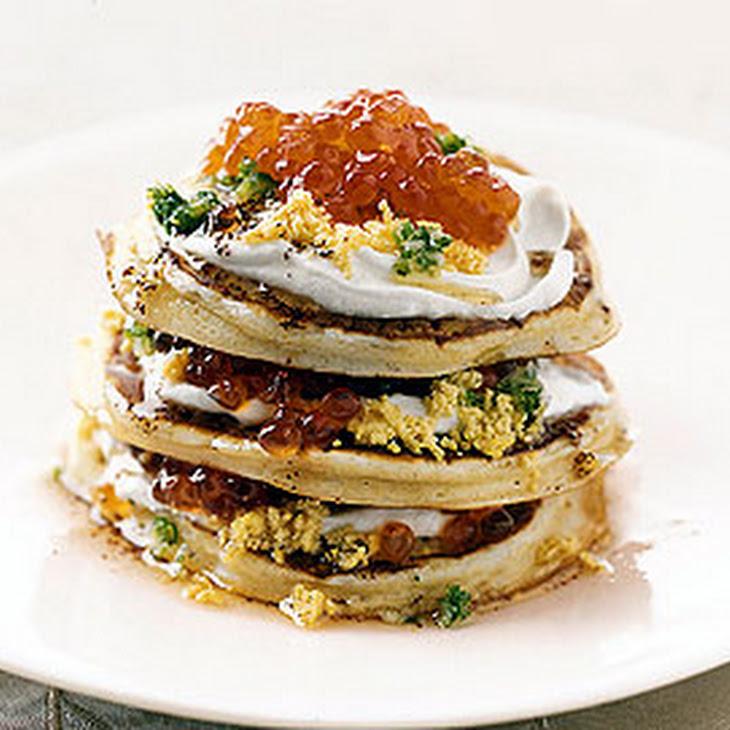 Caviar Pancakes