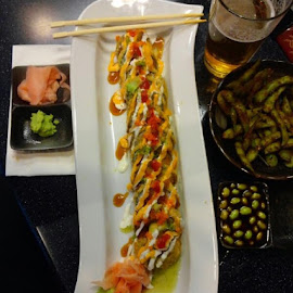 When Only The is Wanted  Ninja Sushi !! by Larry Feightner - Food & Drink Plated Food