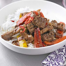 Hot & Sour Pork & Pepper Stir-fry