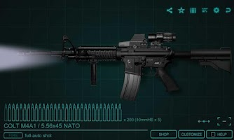 Screenshot of SimGun2 Custom - Gun Simulator