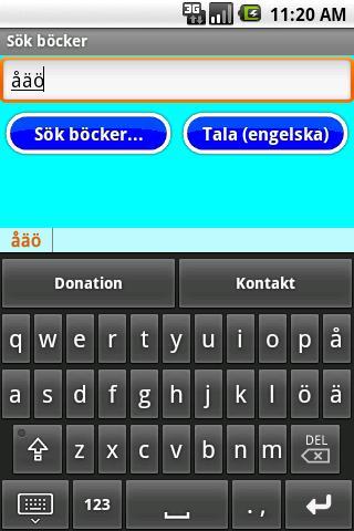 Svenskt tangentbord