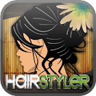 Virtual HairStyler Style App icon